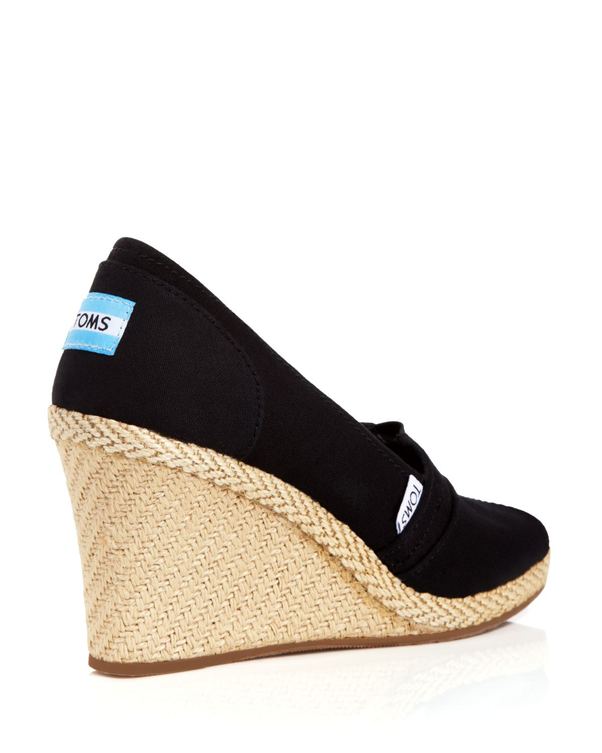 Lyst Toms Espadrille Wedge Sandals Classic In Brown