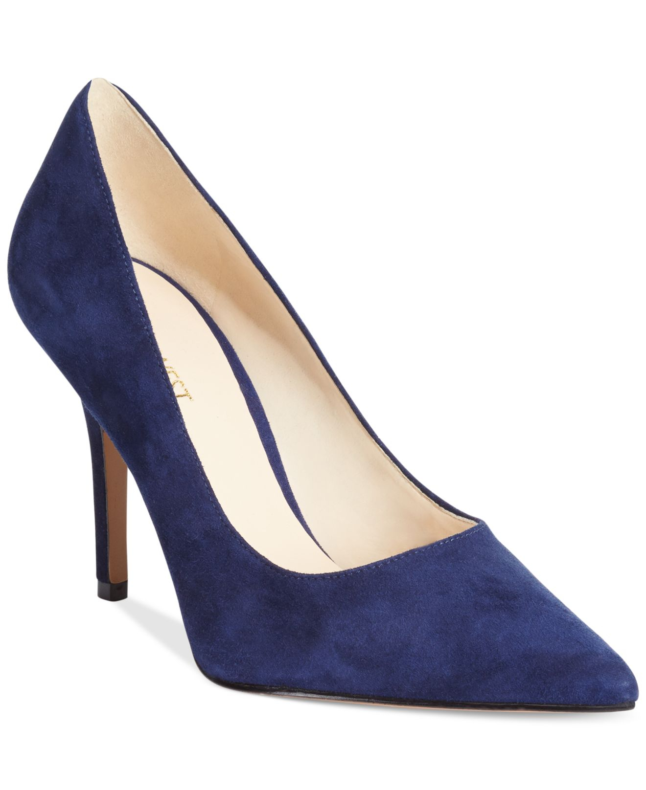 c7318b07bad Lyst - Nine West Jackpot Pumps in Blue