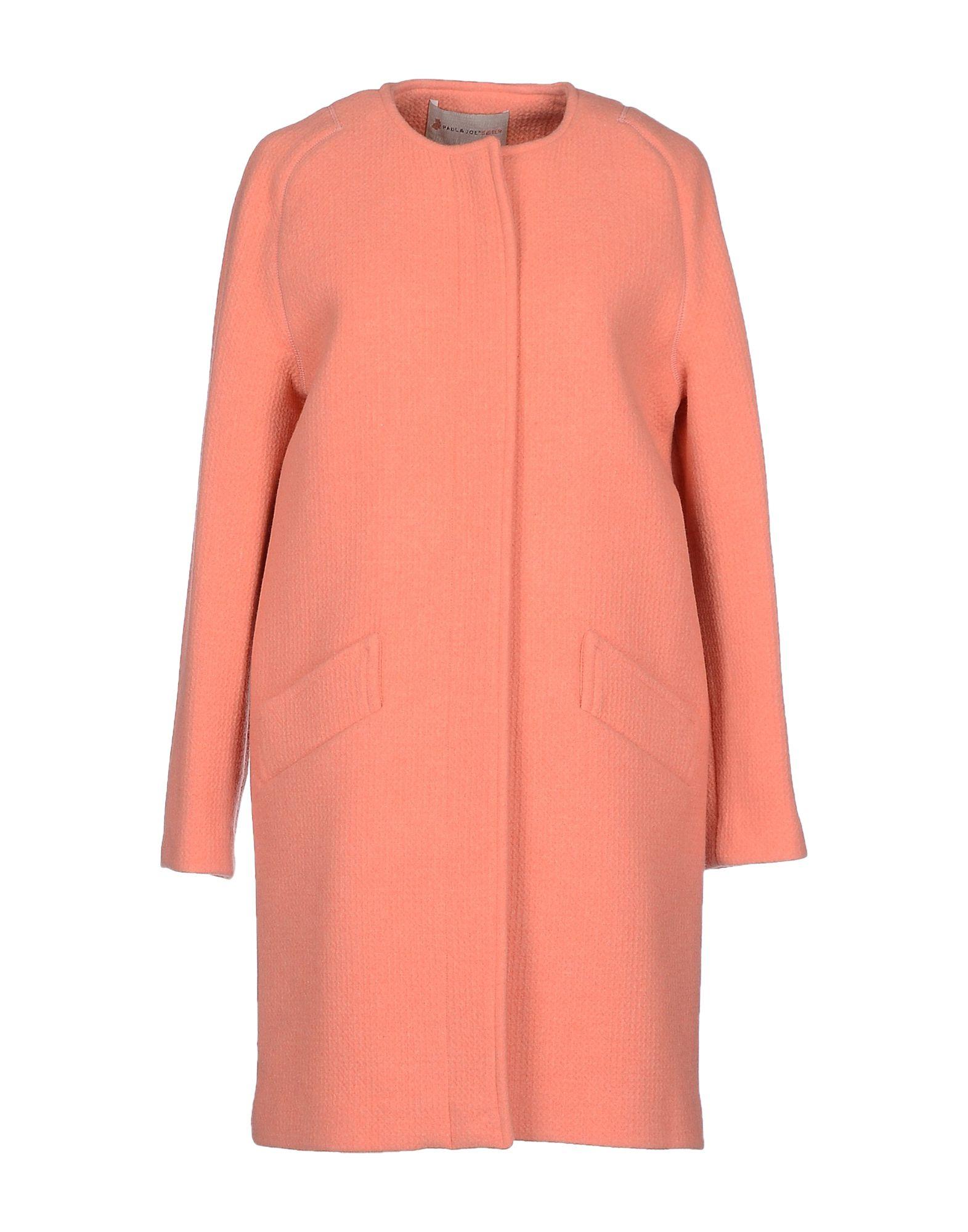 Paul & joe Coat in Pink | Lyst