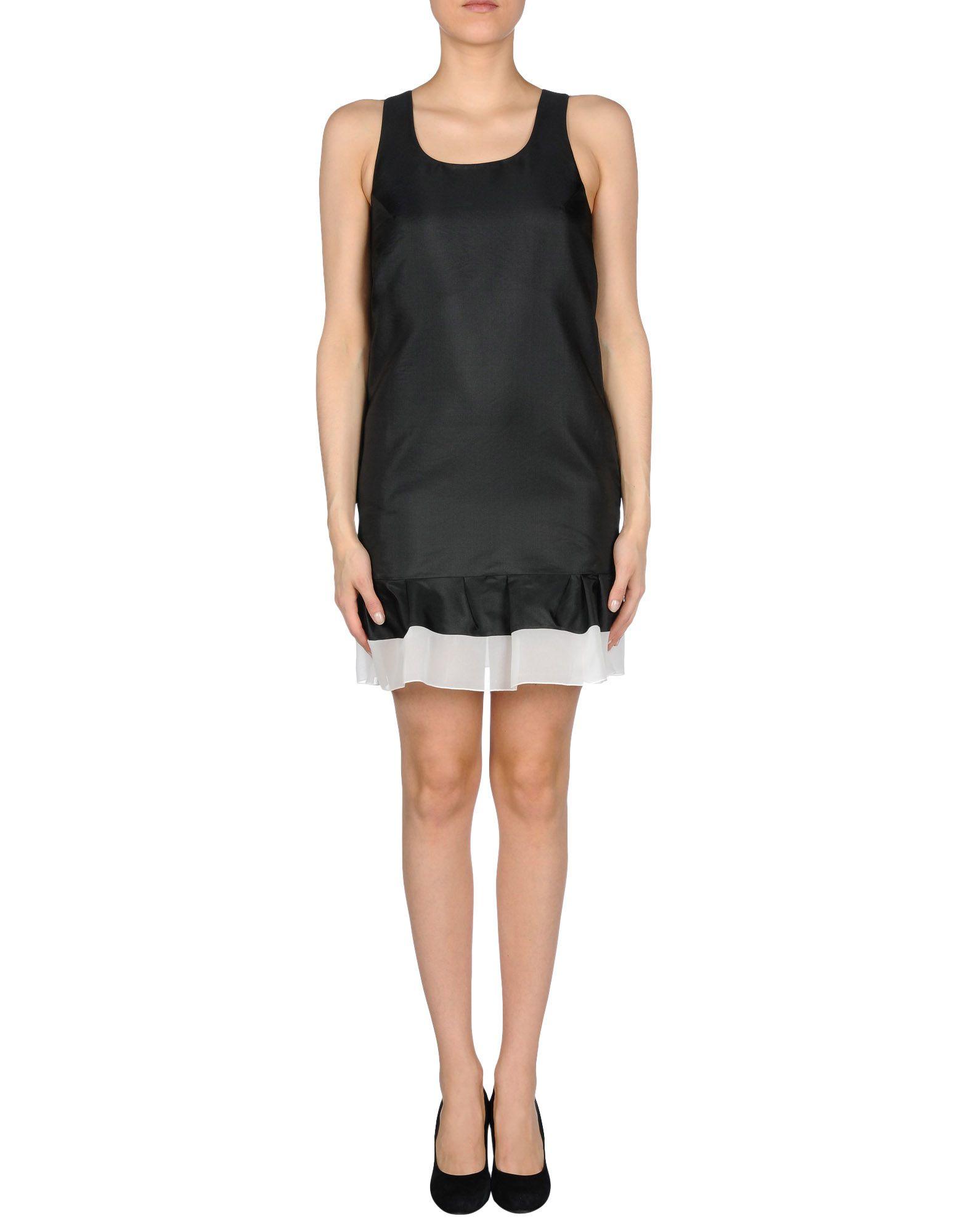 viktor rolf short dress in black lyst. Black Bedroom Furniture Sets. Home Design Ideas