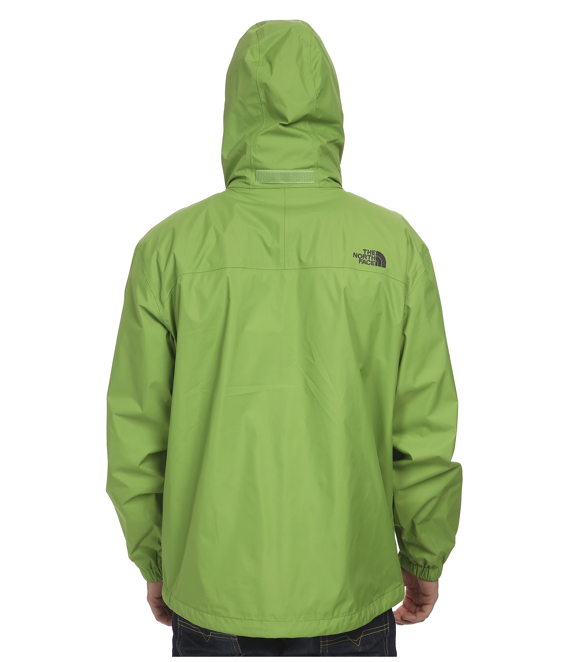 1633de2a25 ... cheap lyst the north face resolve jacket in green for men 8c3e3 5859a