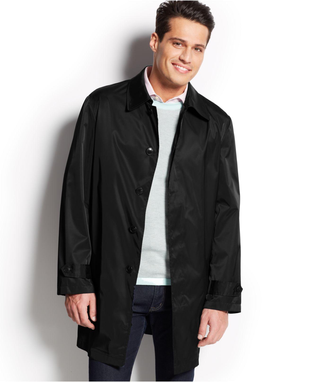 Lyst Lauren By Ralph Lauren Packable Raincoat In Black