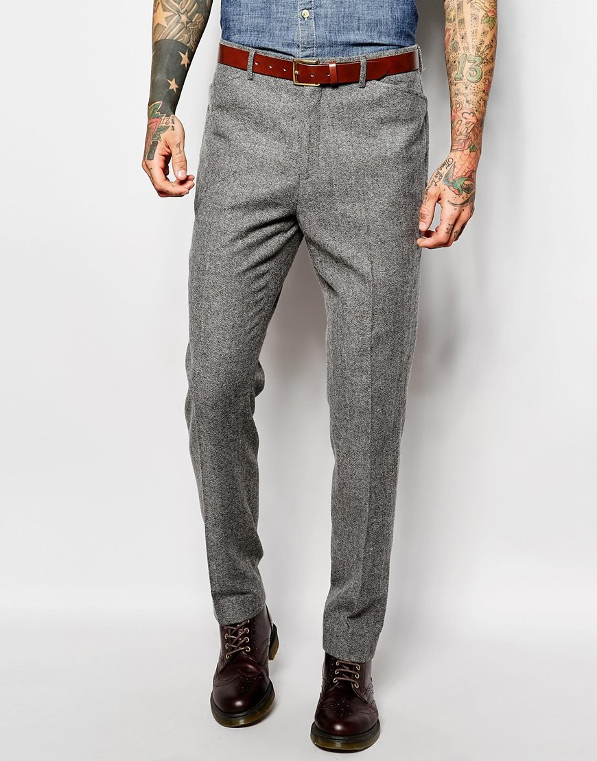 Find mens wool tweed pants at ShopStyle. Shop the latest collection of mens wool tweed pants from the most popular stores - all in one place.