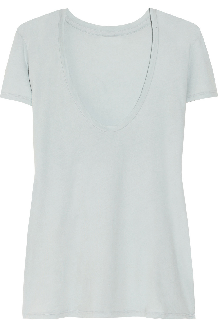 James perse v neck t shirt in black lyst for James perse t shirts sale
