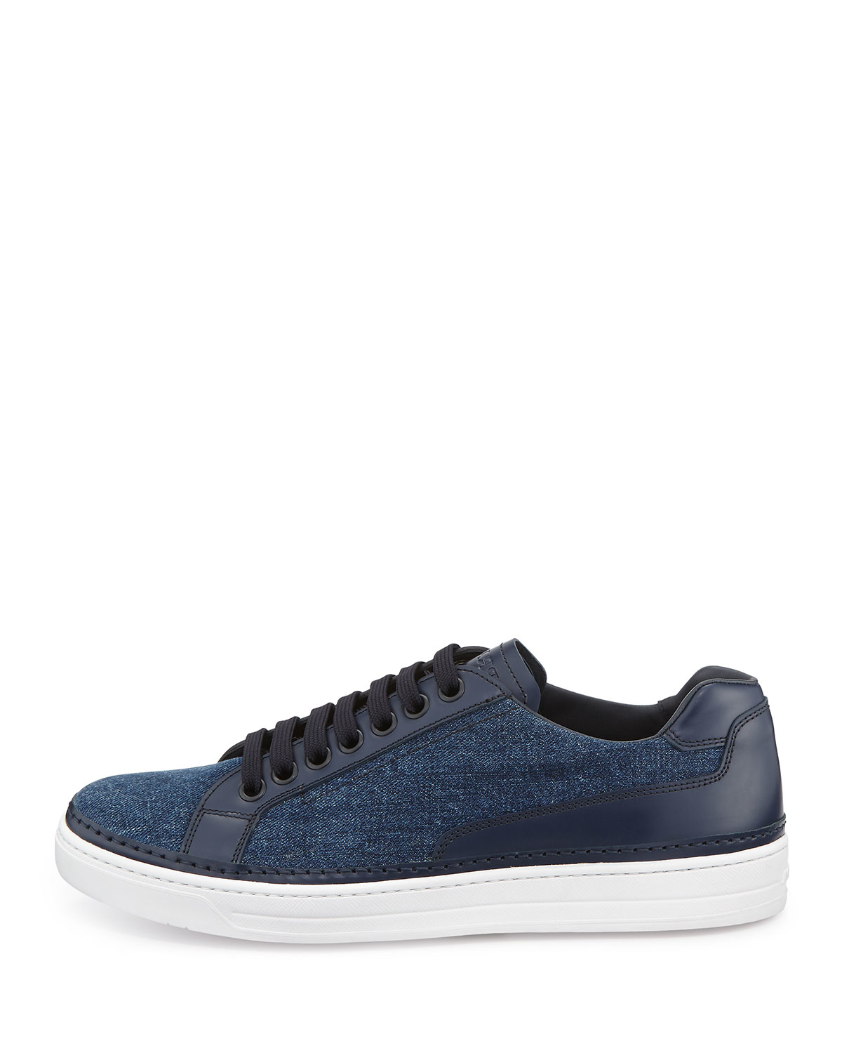 low top sneakers - Blue Prada VP34Faj1KR