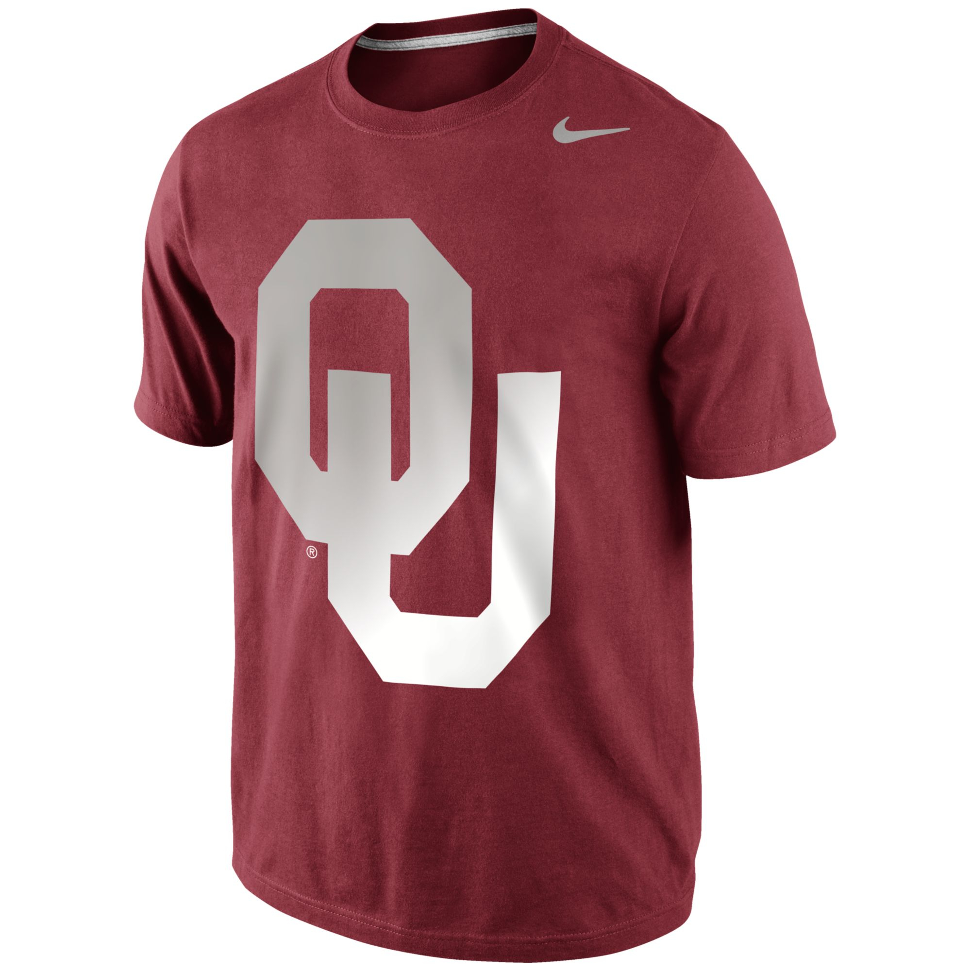 Nike Men 39 S Oklahoma Sooners Gradient T Shirt In Purple For