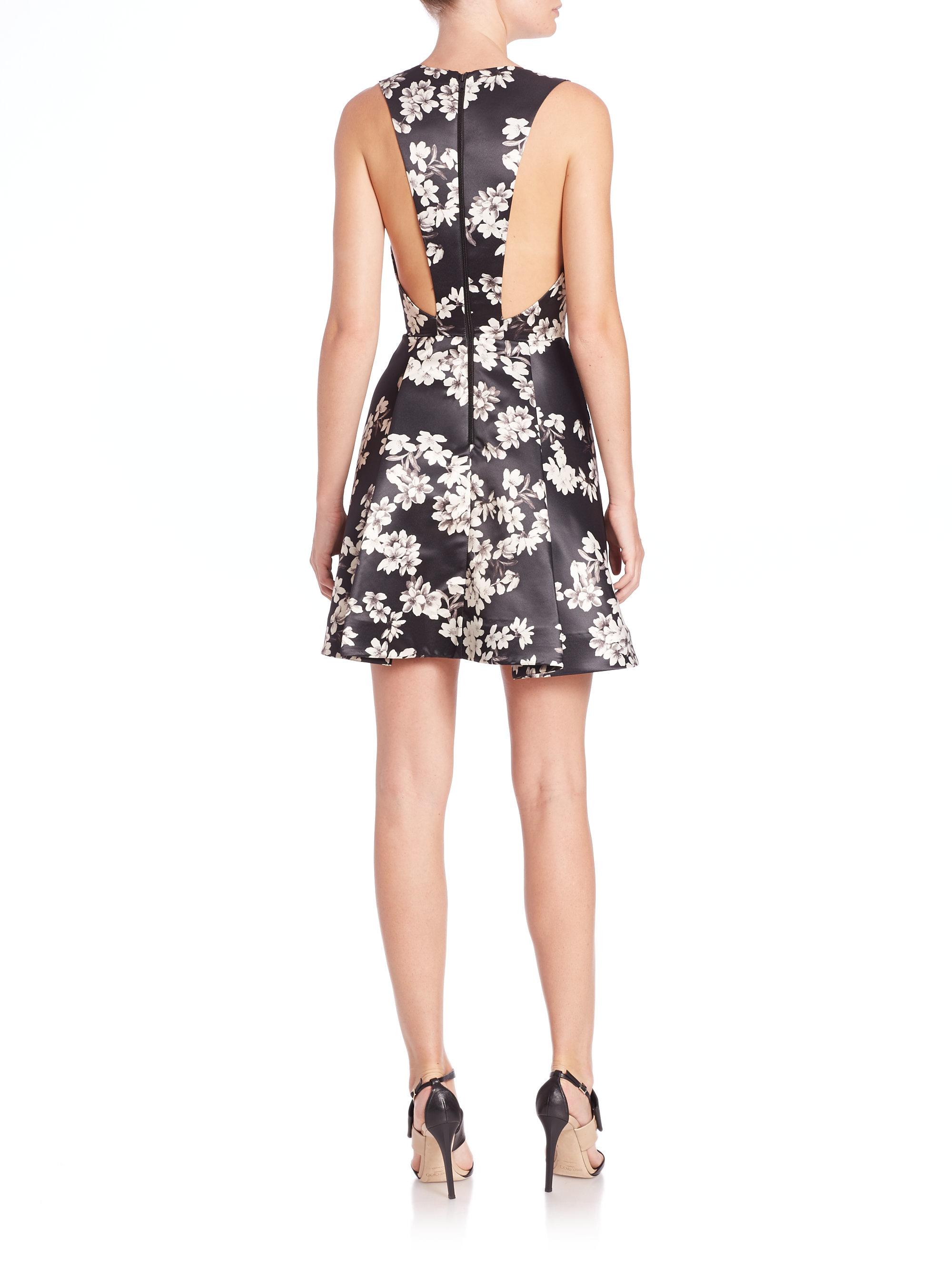 Alice+Olivia floral print v-neck dress Limited New Buy Cheap Get To Buy d4PSxA