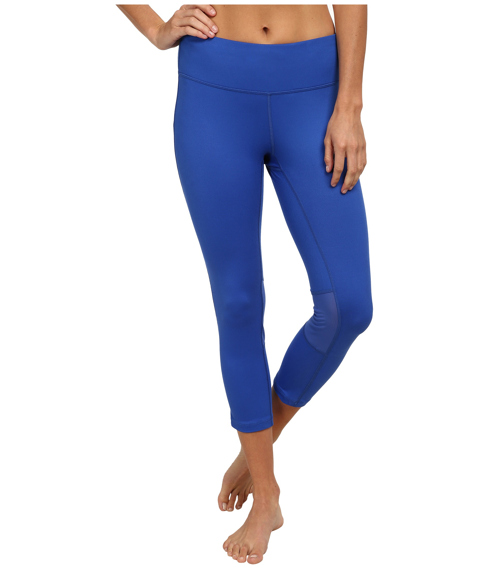 2ec29c4f693dd Nike Dri-fit™ Epic Run Crop in Blue - Lyst
