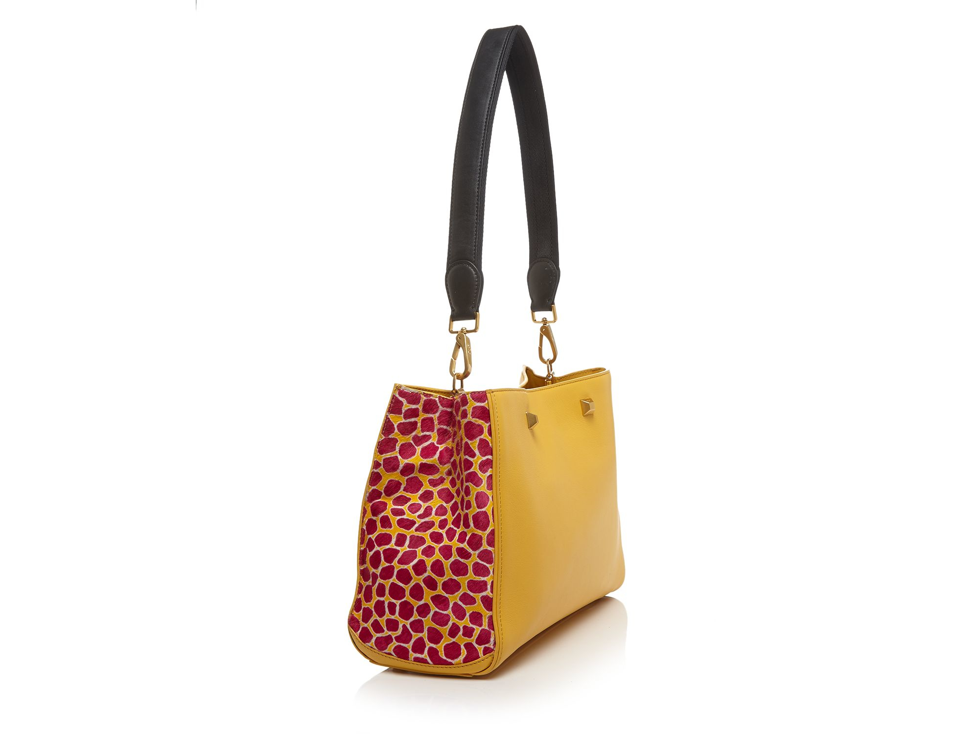 MCM Tote - Holiday Series Small in Yellow
