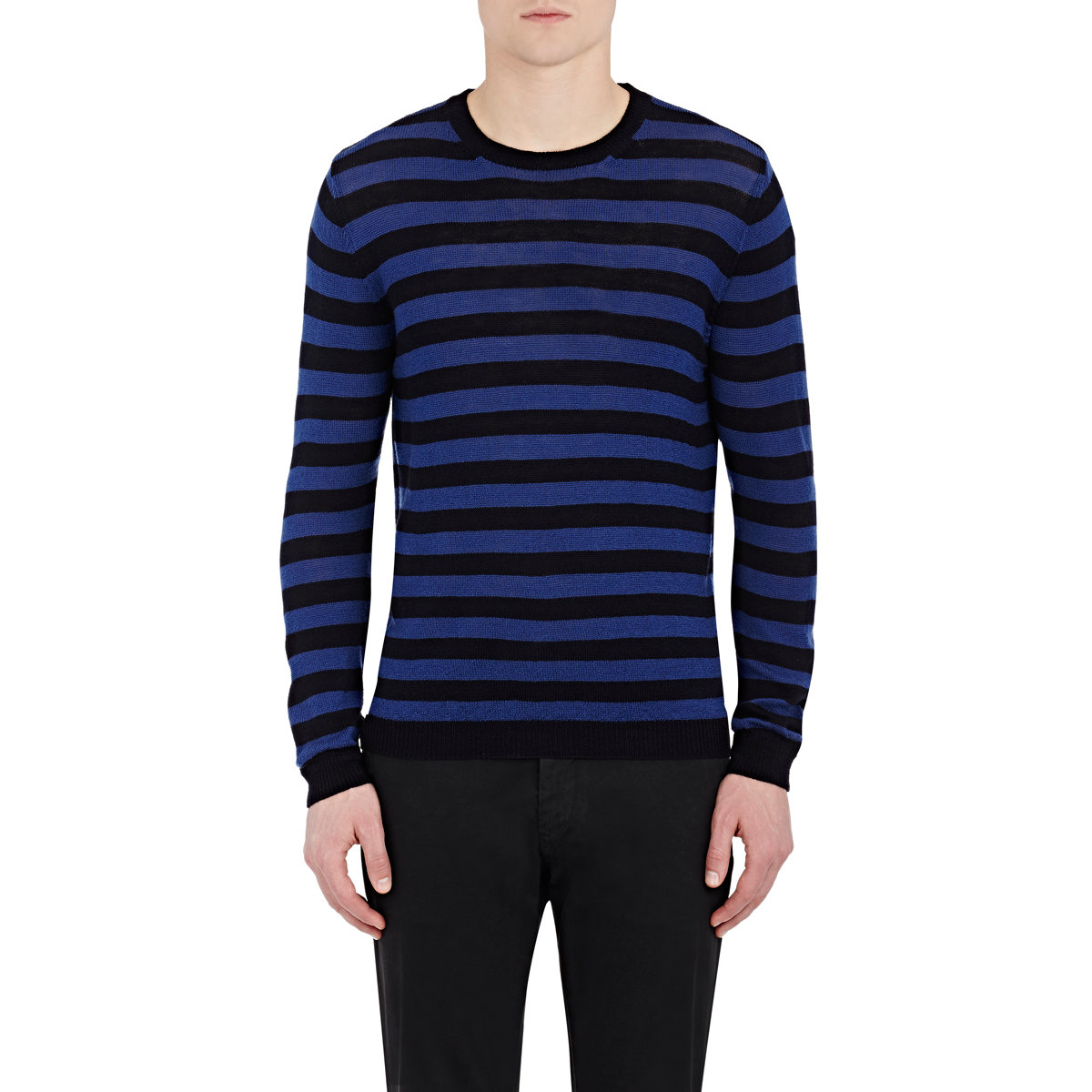 Buy Off-White c/o Virgil Abloh Men's Black Striped Sweater. Similar products also available. SALE now on!Price: $