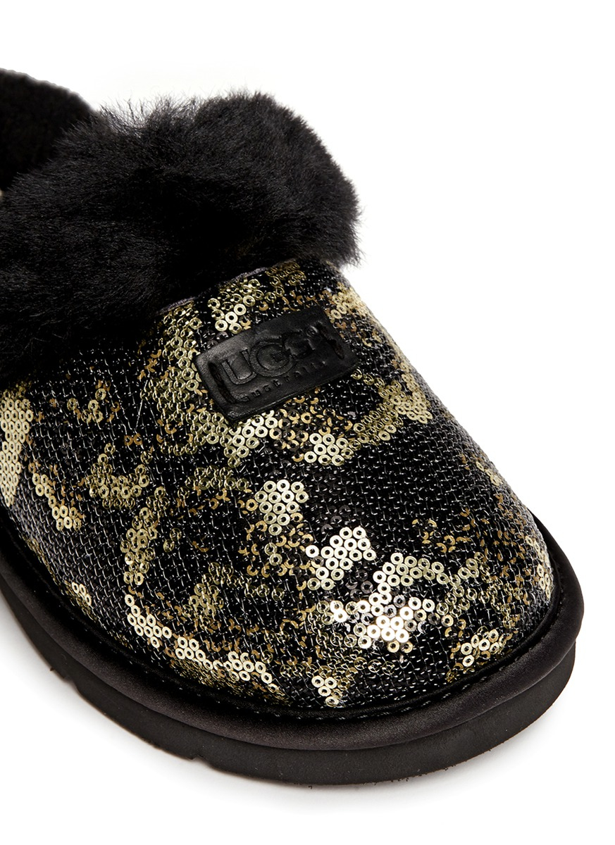 8aaf0ea04ca UGG Metallic 'dazzle Pinecone' Sequin Slippers