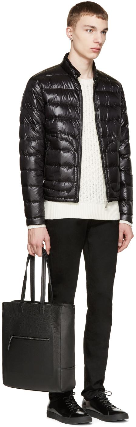5251c95b8 Moncler Black Down Acorus Jacket for men