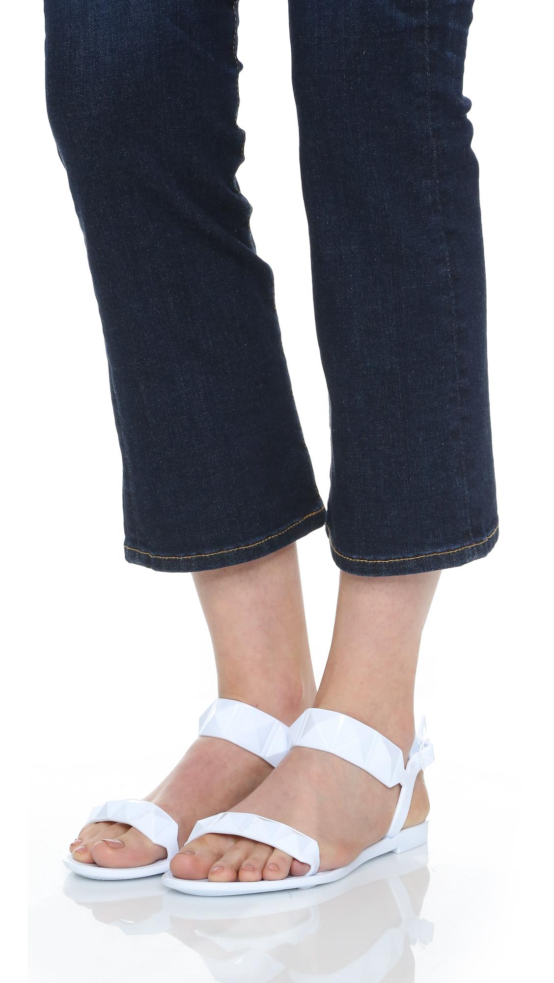 Lyst Rebecca Minkoff Jana Jelly Sandals In White