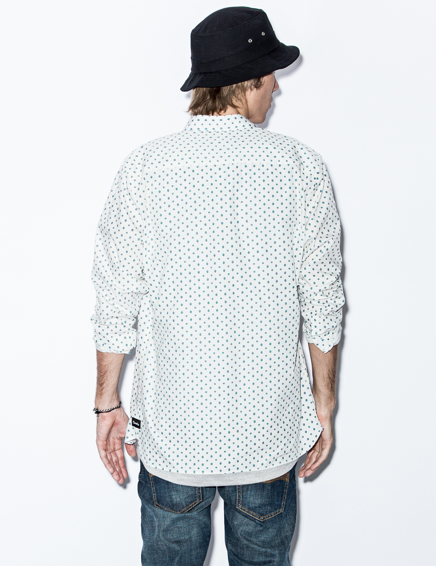 Barney Cools White Boho Ls Shirt In For Men Lyst