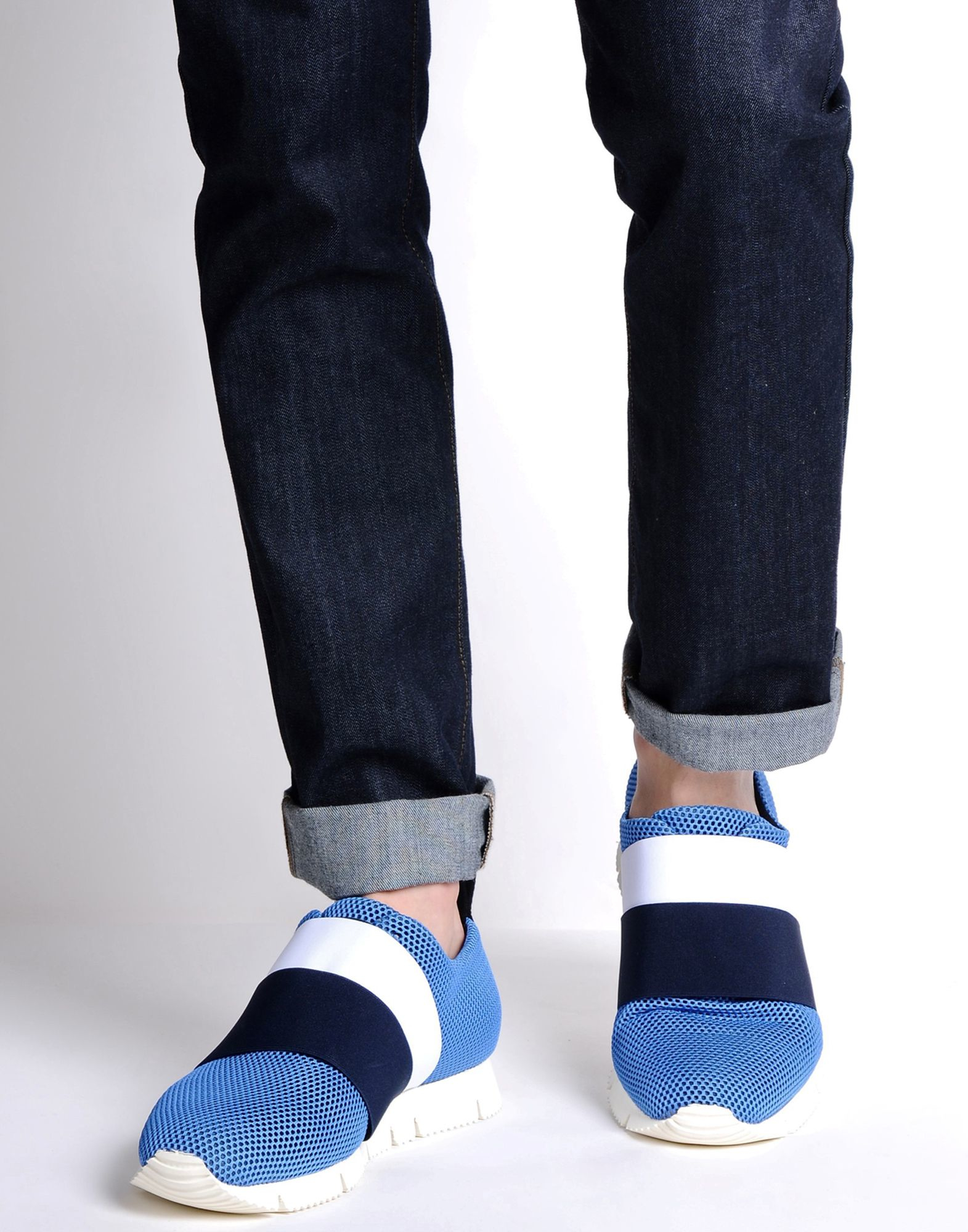 8 Low-tops & Sneakers in Azure (Blue) for Men