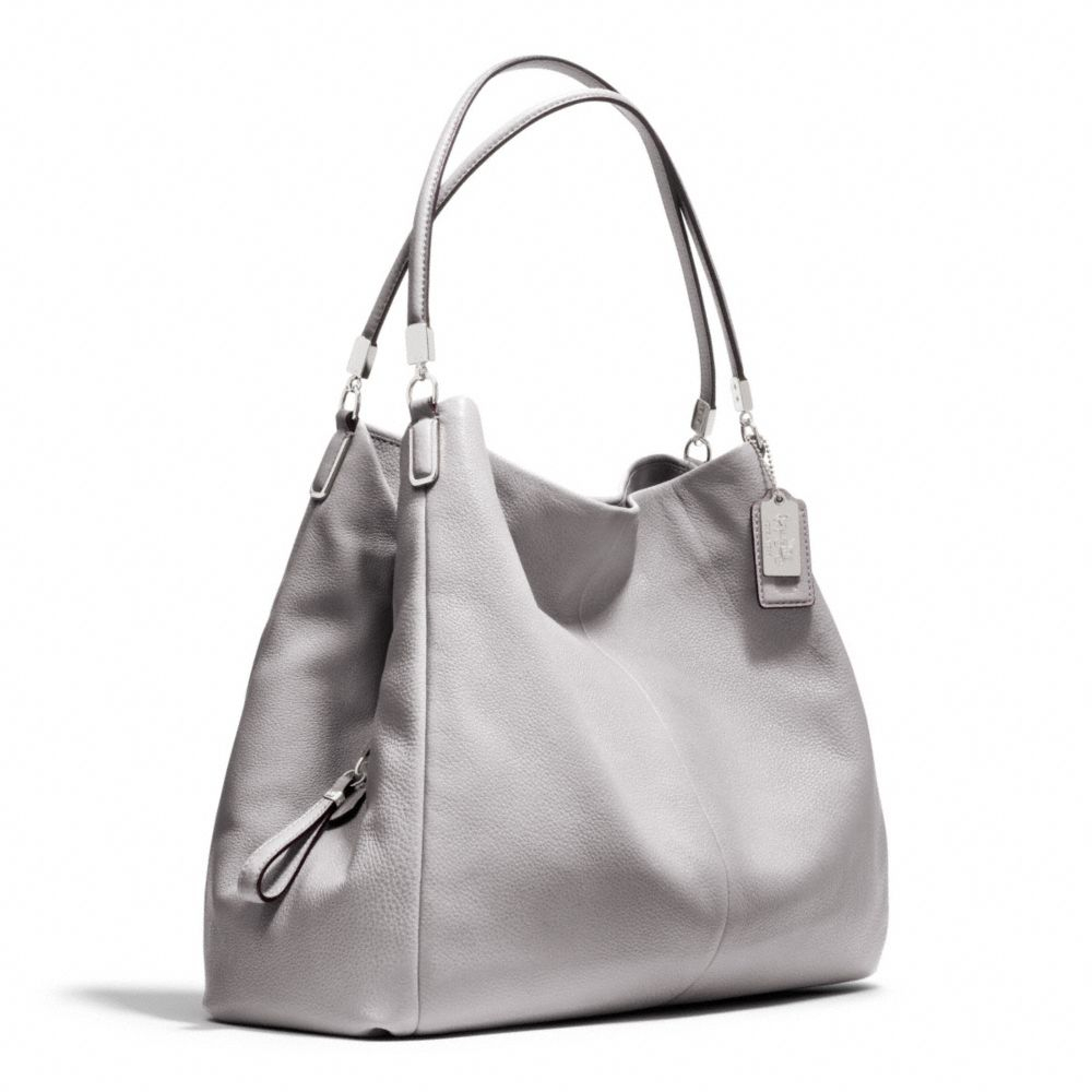 a1a2990830 ... grey 3b5ca 9858f italy lyst coach madison leather phoebe shoulder bag  in gray 5c16c 01950 ...