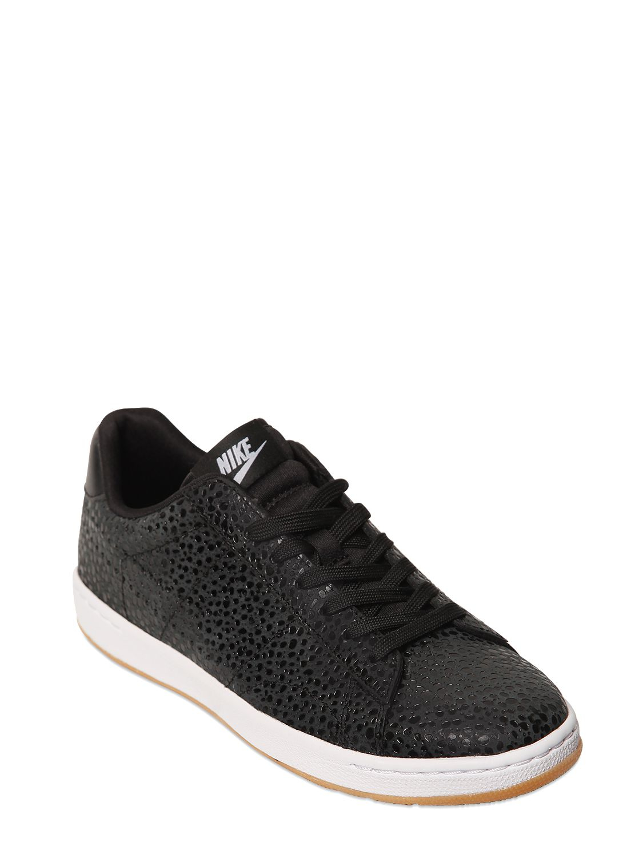Finish Line Black Tennis Shoes