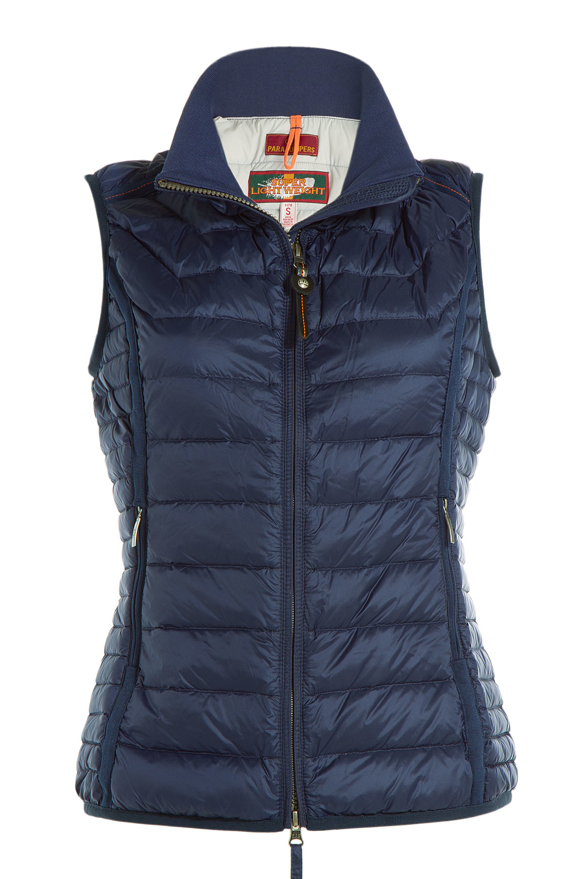 Lyst Parajumpers Quilted Down Vest Blue In Blue