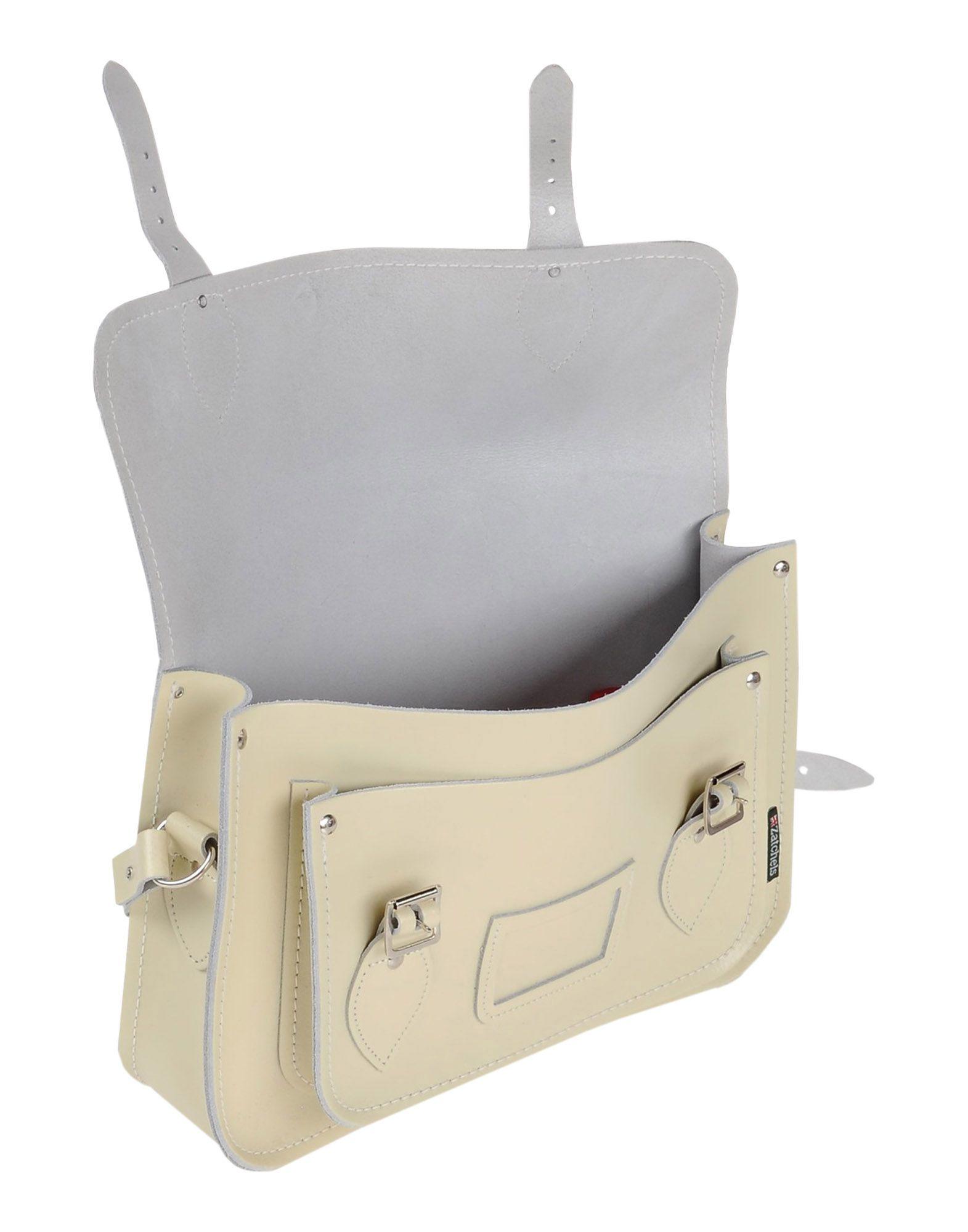 Zatchels Cross-body Bag in Beige (Natural)