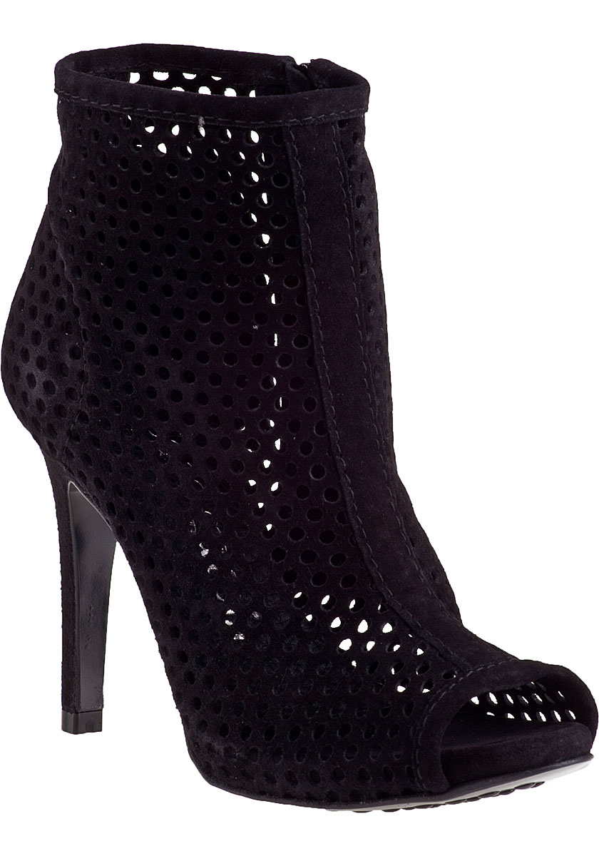 pedro garcia sylvana ankle boot black suede in black lyst