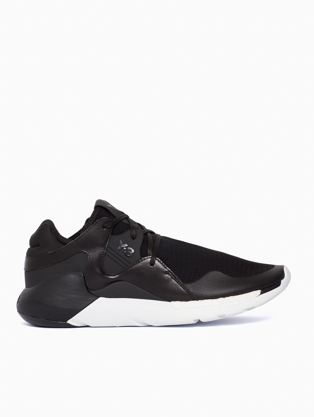 f6373958b Lyst - Y-3 Qr Run Sneakers in Black for Men