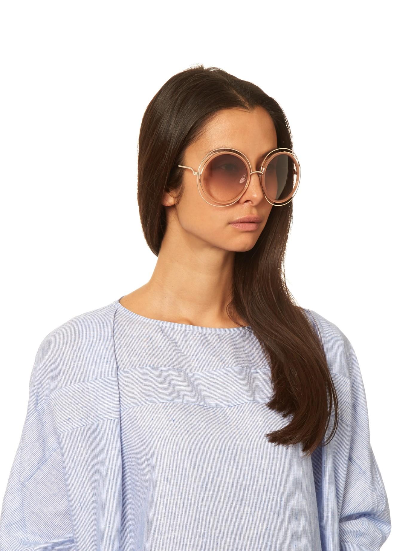 dd252036dd803 Chloe Carlina Sunglasses Australia