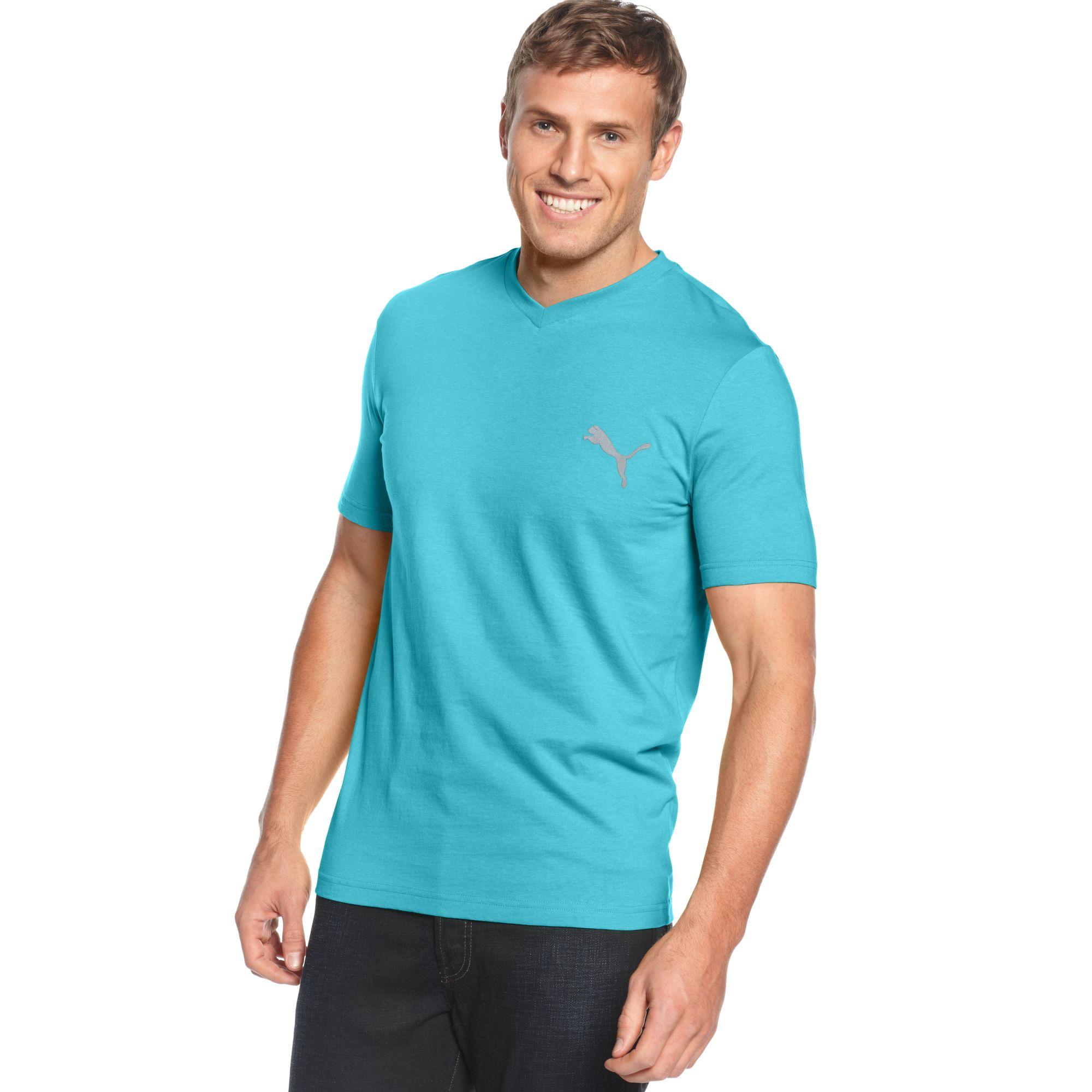 Lyst Puma Iconic Tshirt In Blue For Men