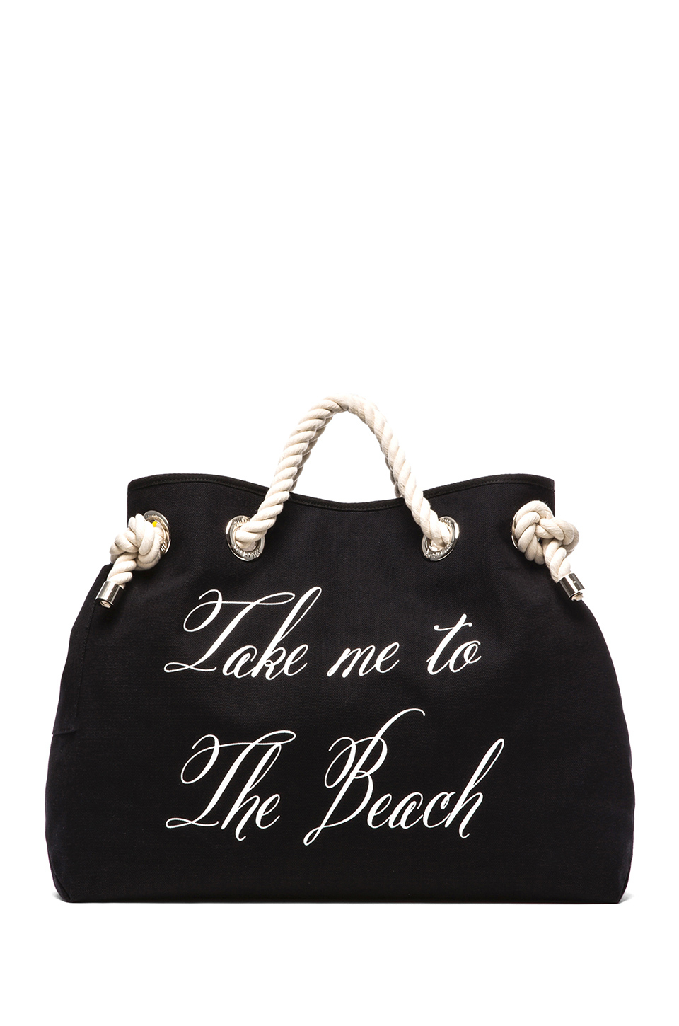 wildfox take me to the beachbel air reversible tote in black lyst. Black Bedroom Furniture Sets. Home Design Ideas