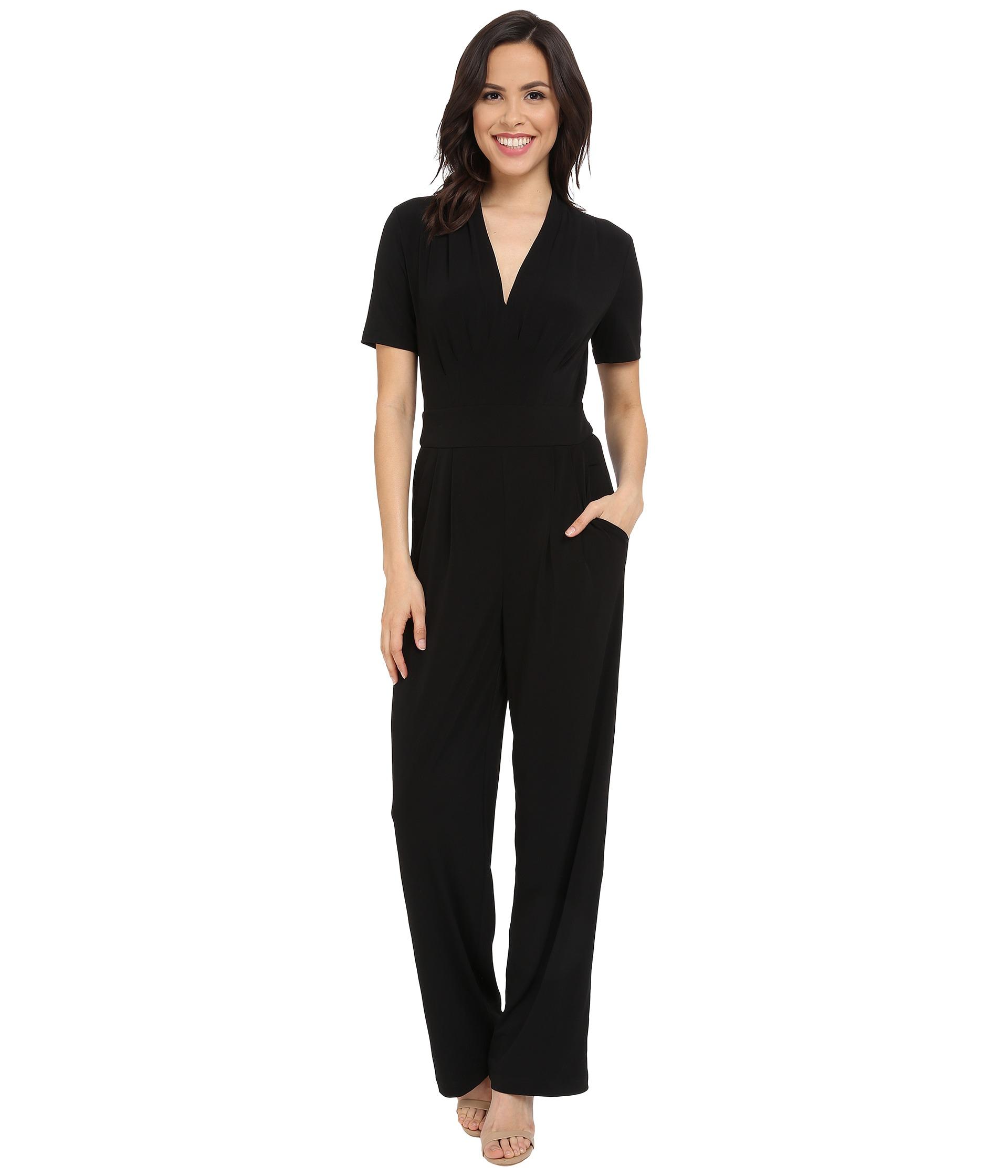 e22d9d751db0 Lyst - Catherine Malandrino Kylie Jumpsuit in Black