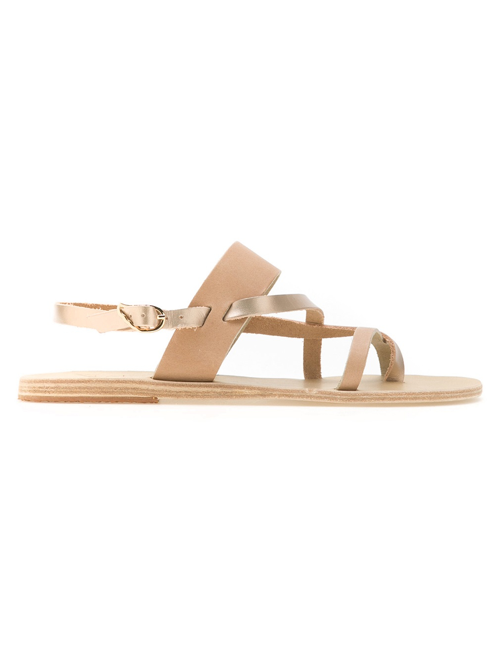 Lyst Ancient Greek Sandals Alethea Sandal In Natural