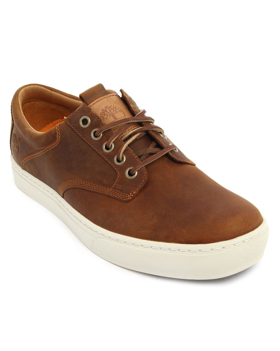 timberland earthkeepers leather tobacco sneakers in brown. Black Bedroom Furniture Sets. Home Design Ideas