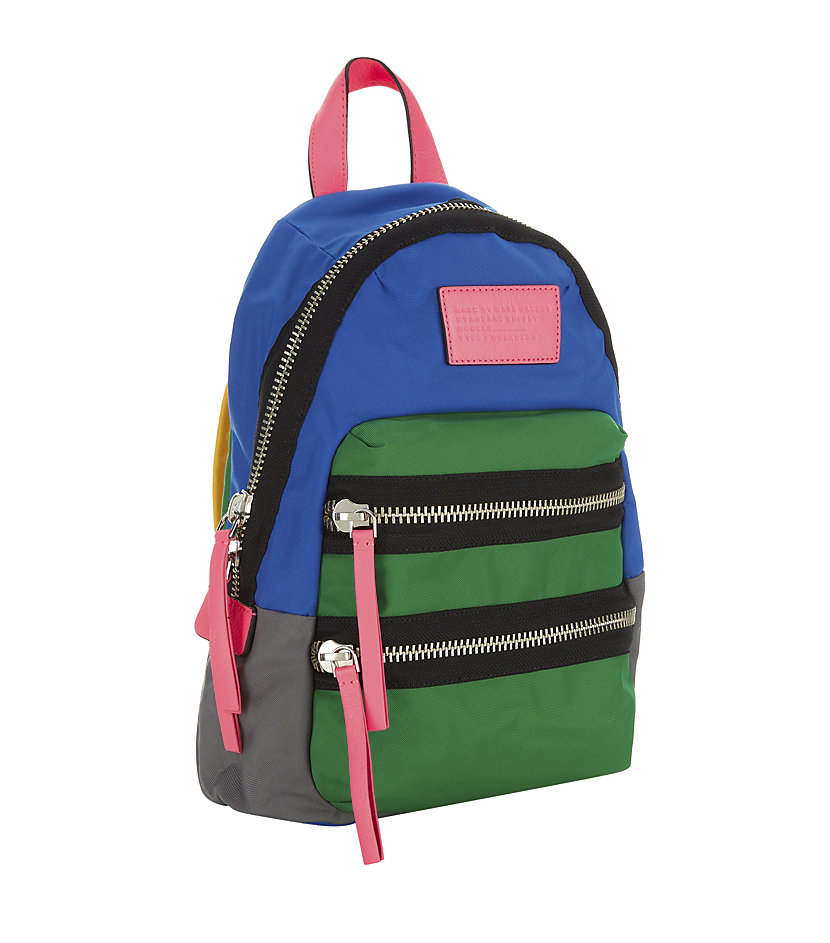 marc by marc jacobs mini loco domo backpack in multicolor. Black Bedroom Furniture Sets. Home Design Ideas