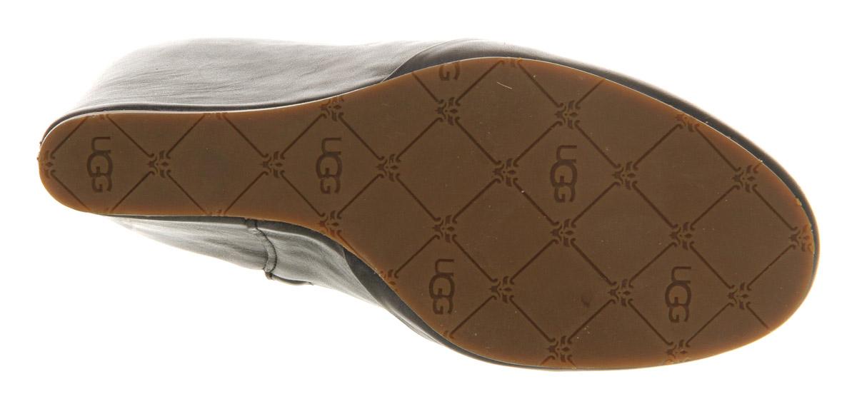 ff0e6b464fa Ugg Carmine Wedge Ankle Boots