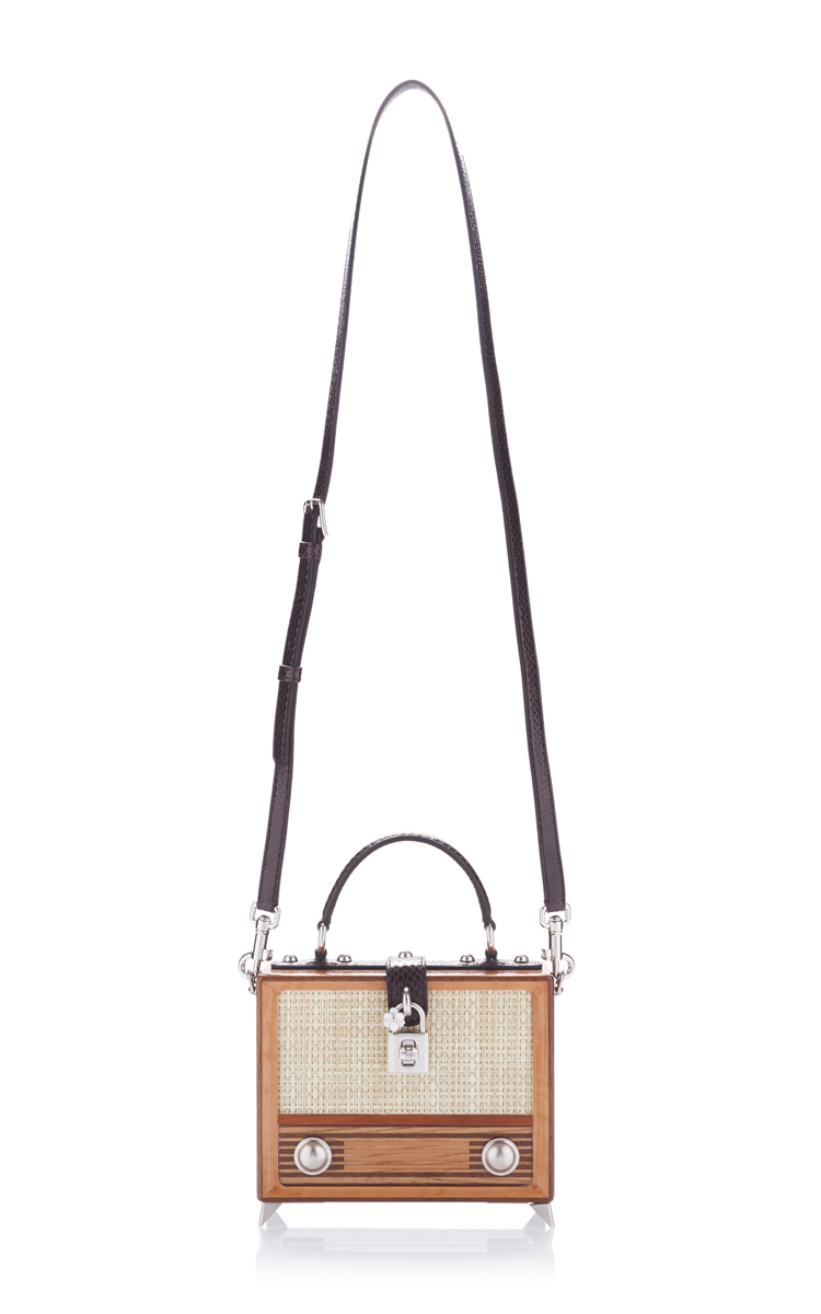 315a5aa37fa8 Dolce   Gabbana Vintage Radio Box Bag in Brown - Lyst