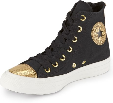 Converse Chuck Taylor All Star Side Zip Sparkle Toe Cap