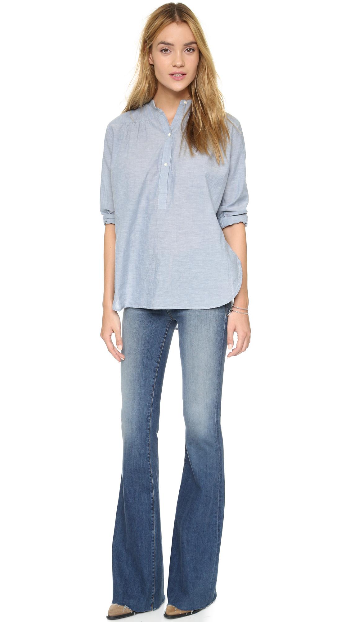 Mcguire Denim Majorelle Flare Jeans In Blue