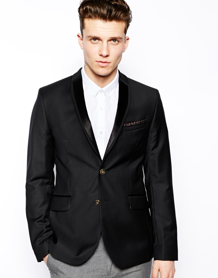 White jacket black lapel: sofltappreciate.tk is an online attire store offering best quality white jacket black lapel, Tuxedos, Shawl collar tuxedos, Mens tuxedo suits, Mens suits, Zoot suits. The quality of fabric is high and is available in diverse range of colors.