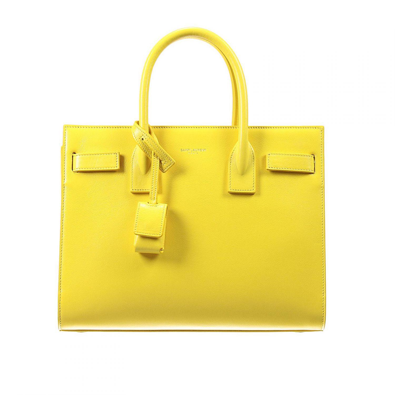 Saint Laurent Handbag In Yellow Lyst