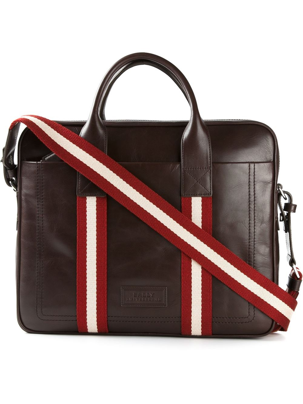 2bdb8d318f0e Lyst - Bally Medium  Tedal  Laptop Bag in Brown for Men