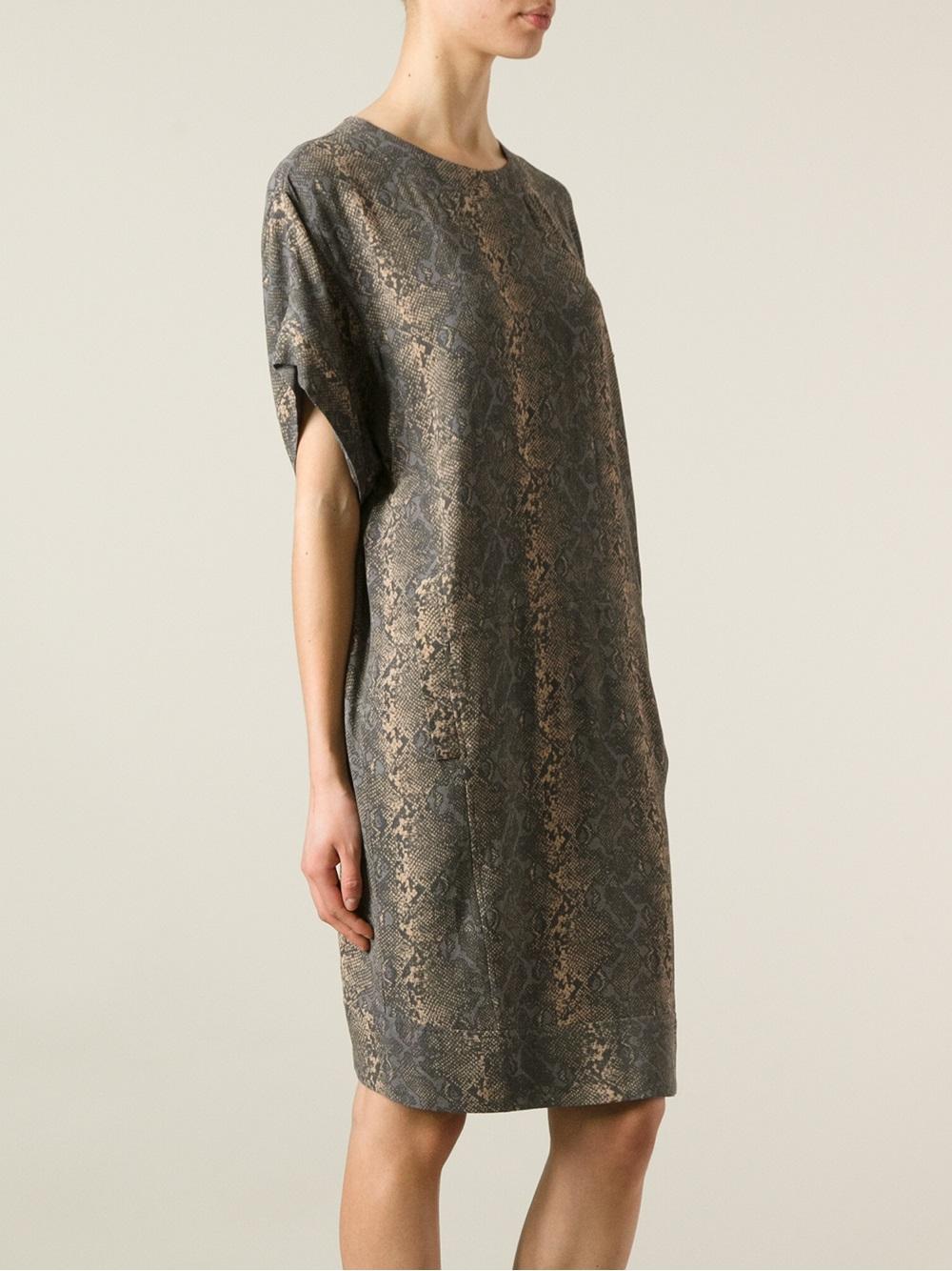 15ed1bb1affb Day Birger et Mikkelsen Sneak Dress in Metallic - Lyst
