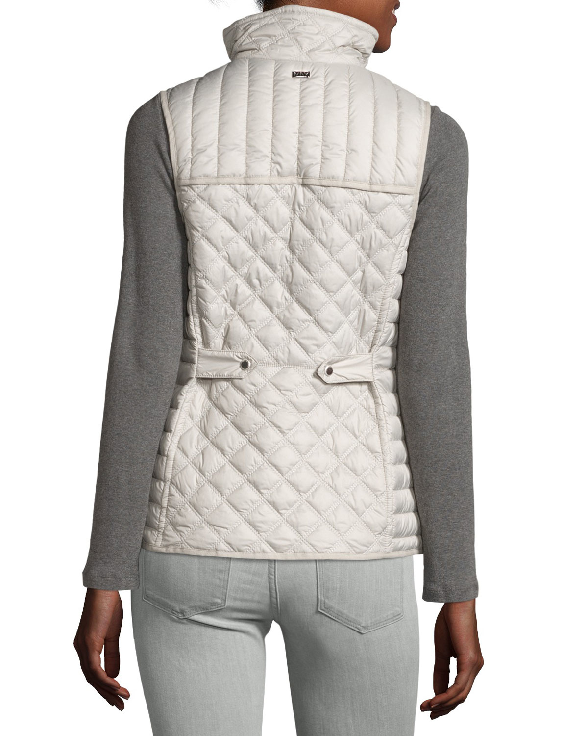 Marc New York Ellis Quilted Puffer Vest In Pink Lyst