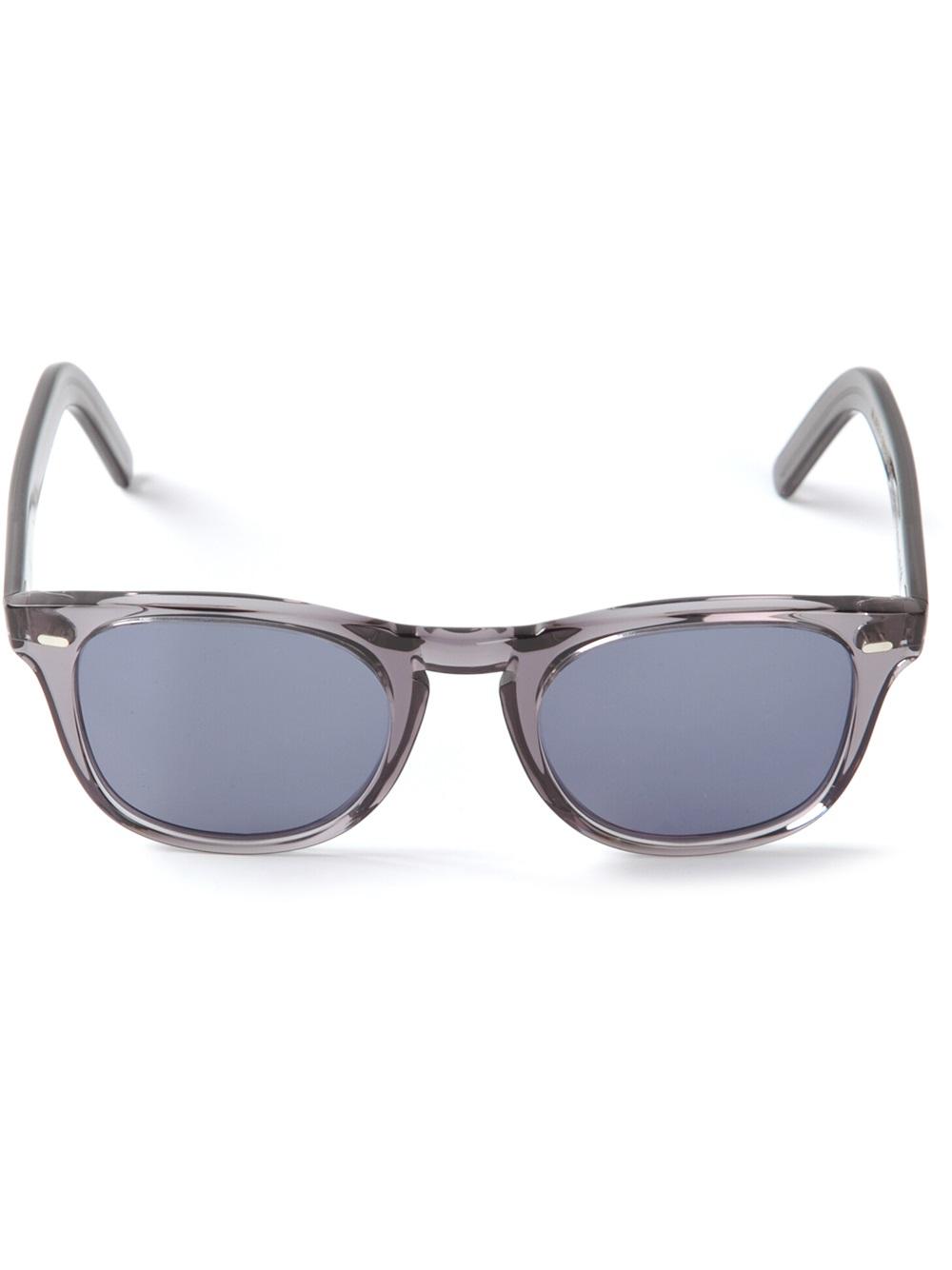 cac5f9134f Cutler   gross Clear Wayfarer Sunglasses in Gray for Men