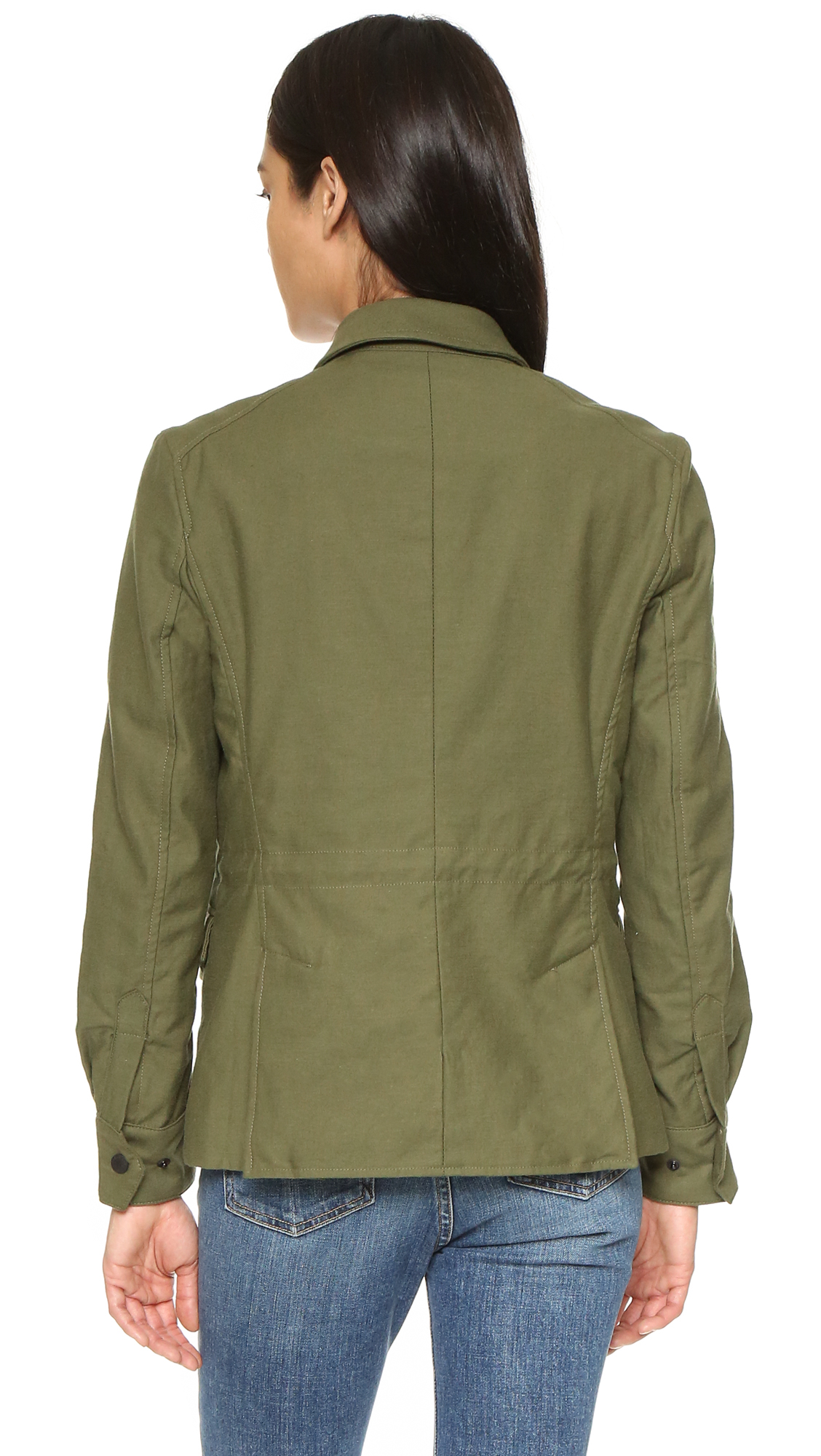 Rag Amp Bone Field Jacket In Green Lyst