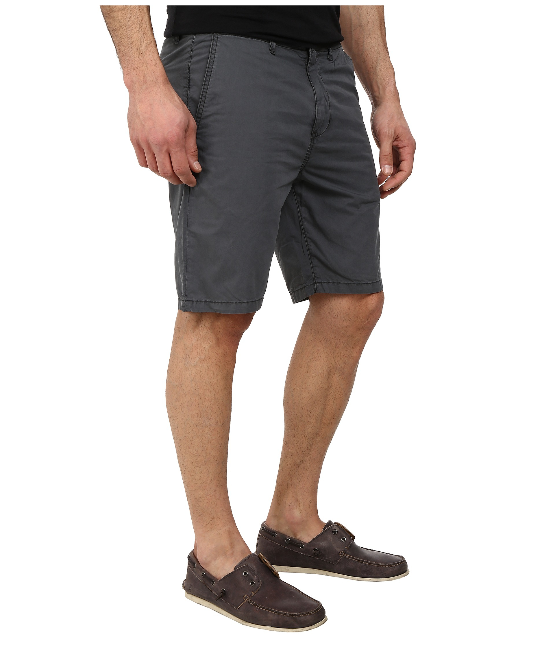 Lyst John Varvatos Casual Short With Flap Back Pockets