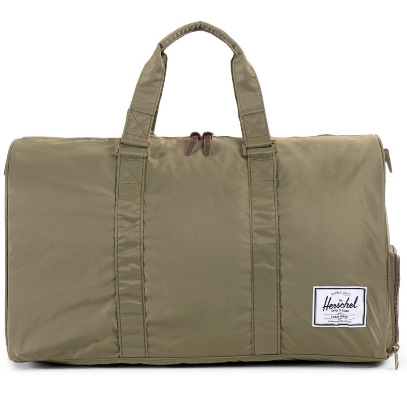 Gym Bag Herschel: Herschel Supply Co. Fern Green Nylon Novel Duffel Bag In
