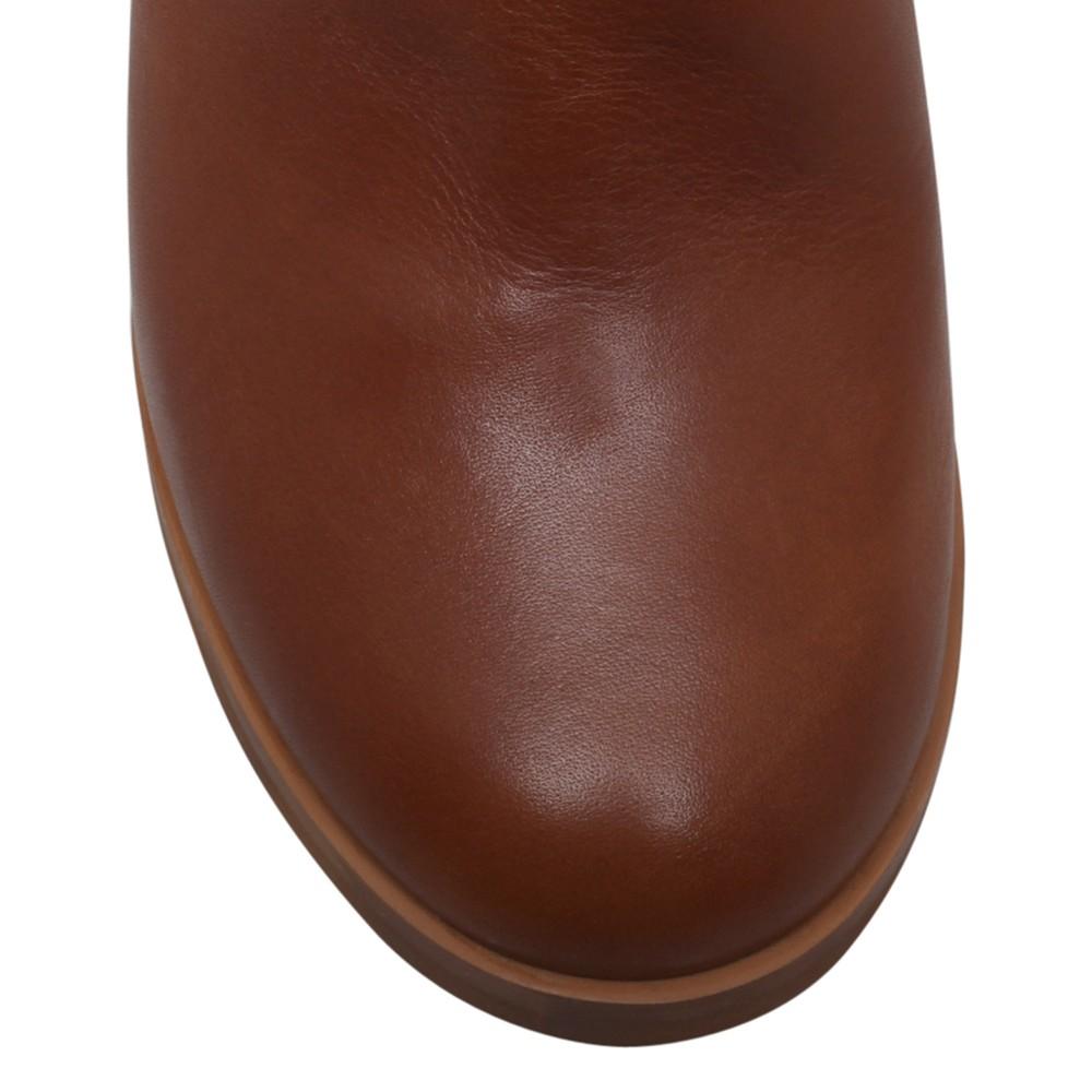 Carvela Kurt Geiger Winne Ankle Buckle Knee Boots in Tan Leather (Brown)