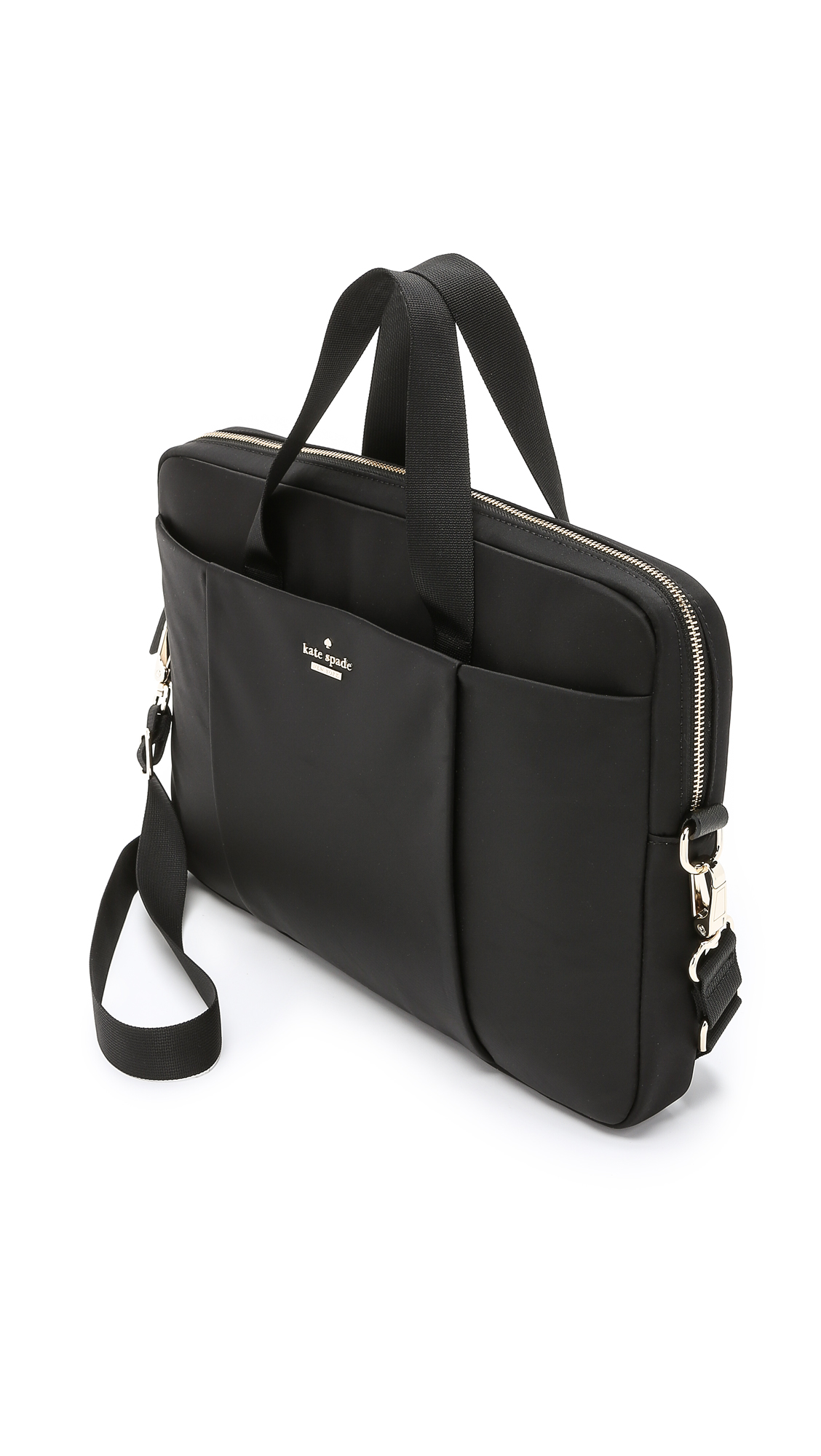 Rolf S Nyc Kate Spade New York Classic Nylon 15 Quot Laptop Case Black