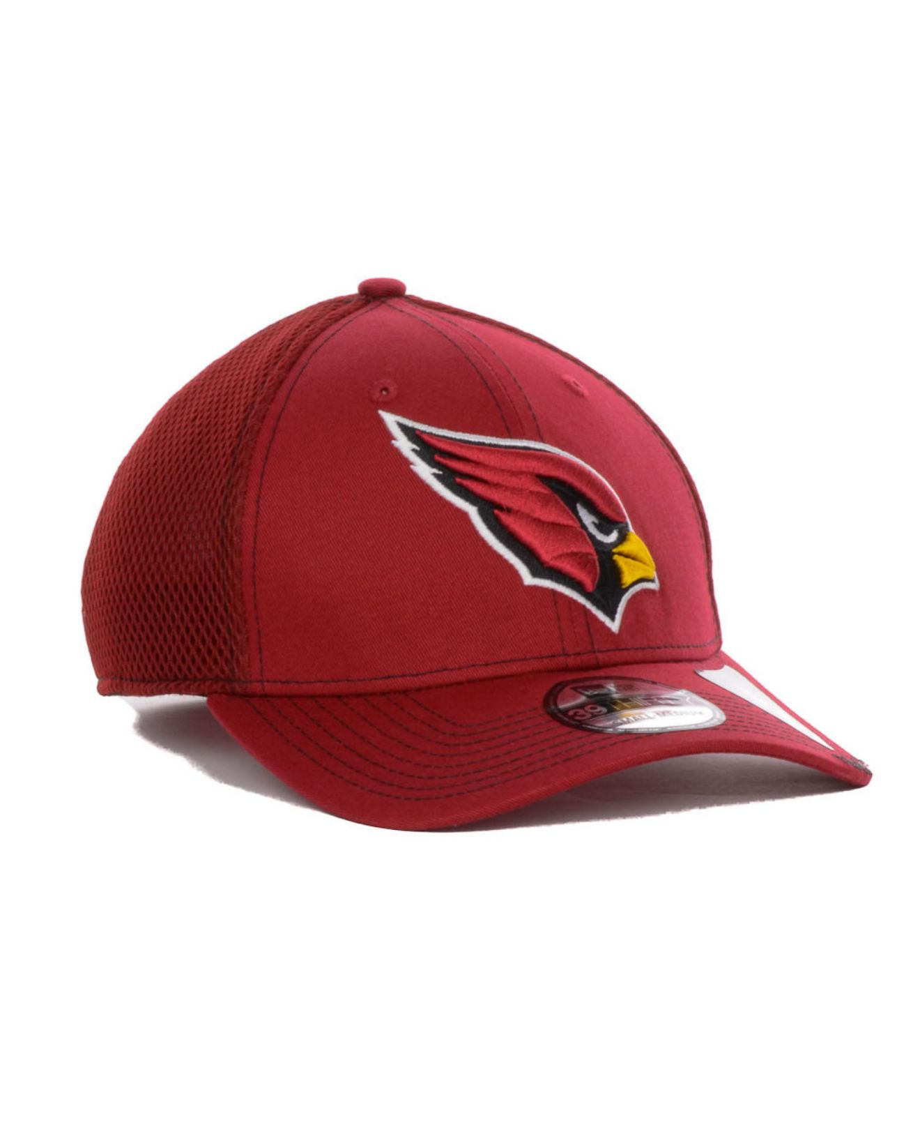 pretty nice 66177 8c132 new zealand lyst ktz arizona cardinals neo 39thirty cap in red for men  9fc11 b6a1f