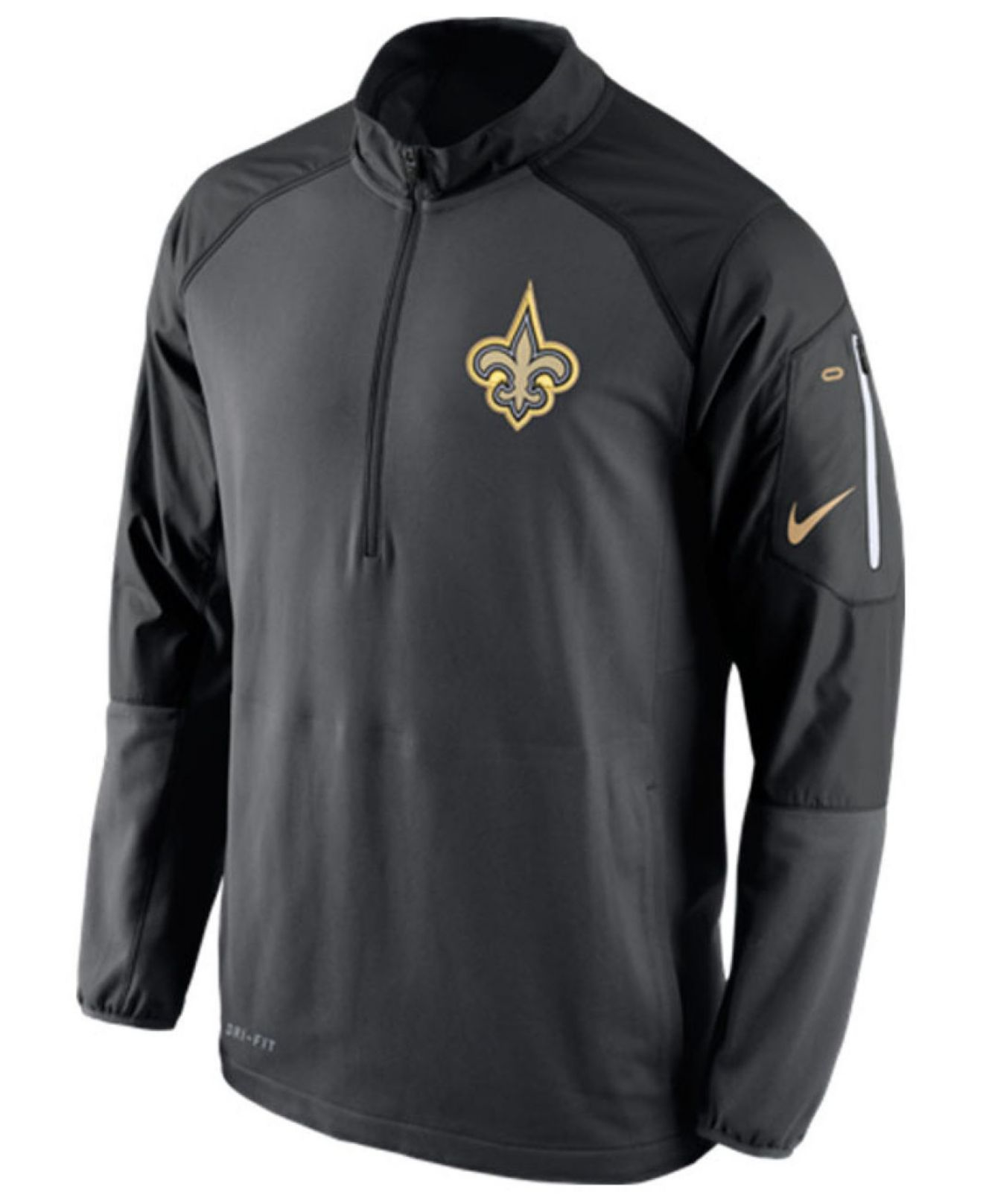 cd01c3633 Lyst - Nike Men s New Orleans Saints Champ Drive Hybrid Half-zip ...