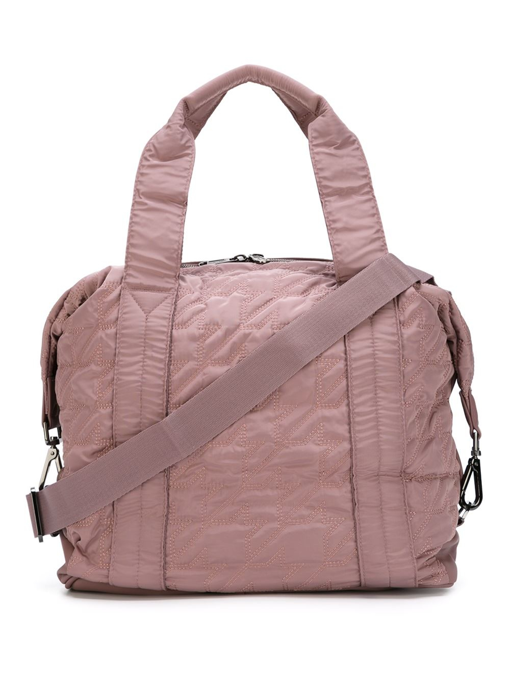adidas By Stella McCartney Quilted Sports Bag in Pink - Lyst ba97caa41d